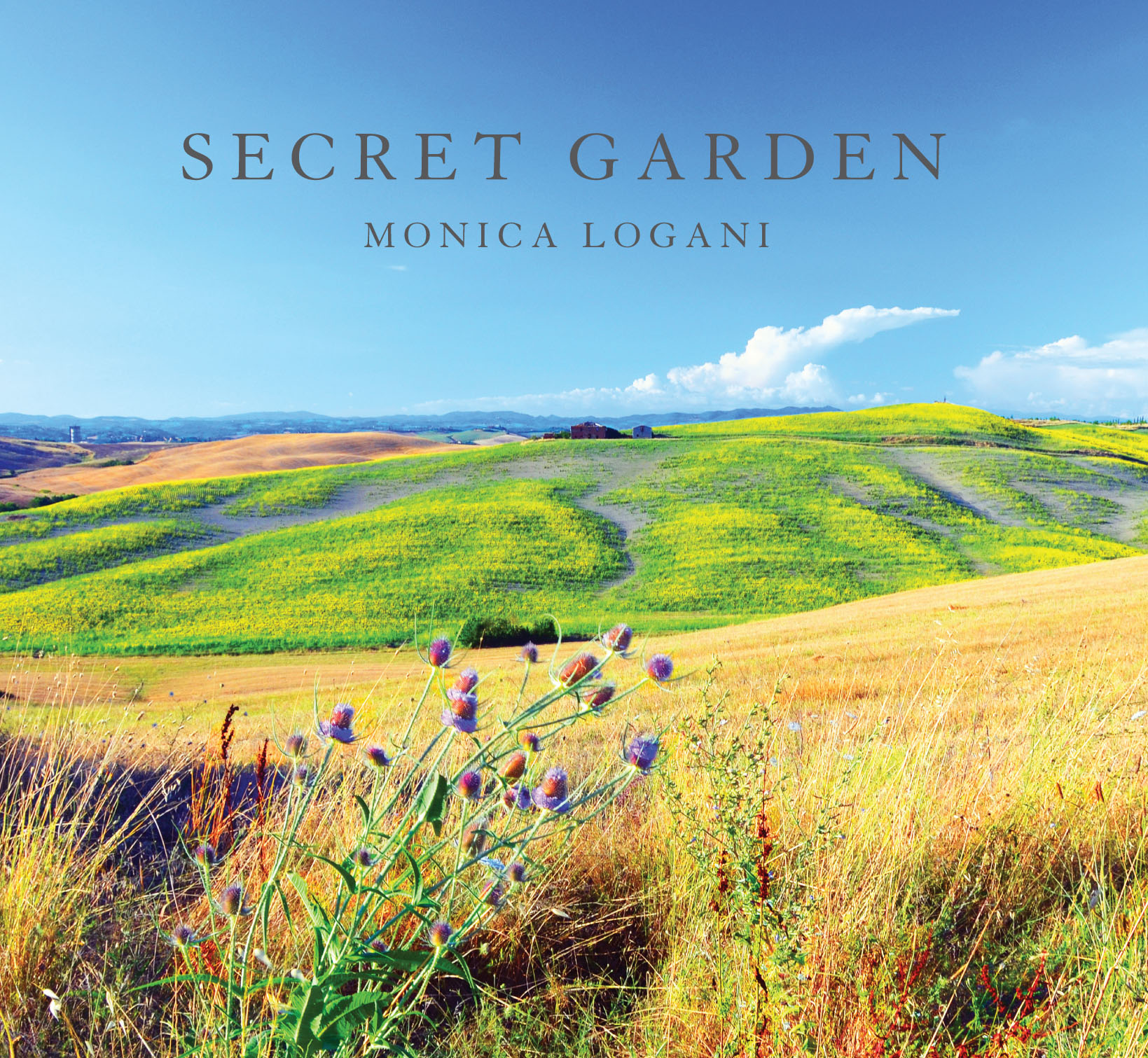 Monica Logani SECRET GARDEN ALBUM COVER