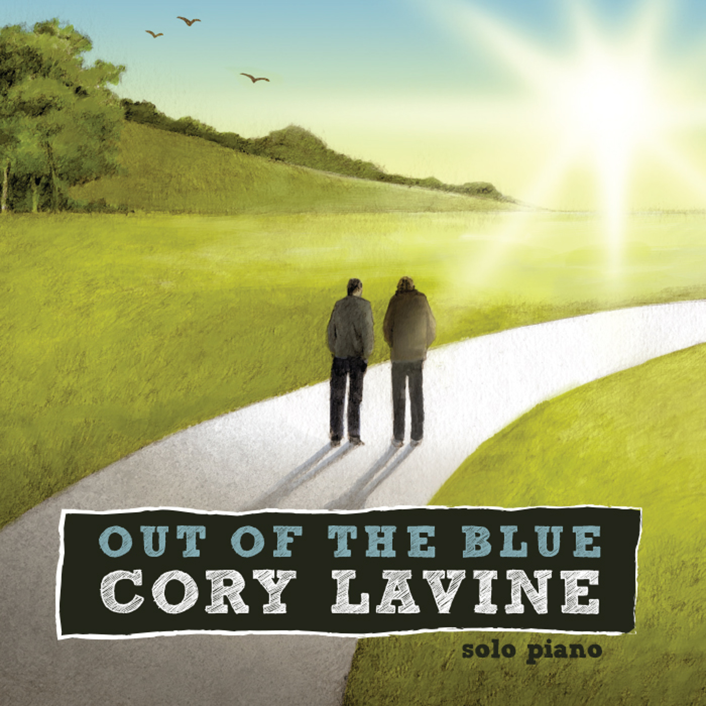 Out of the Blue  - Cory Lavine
