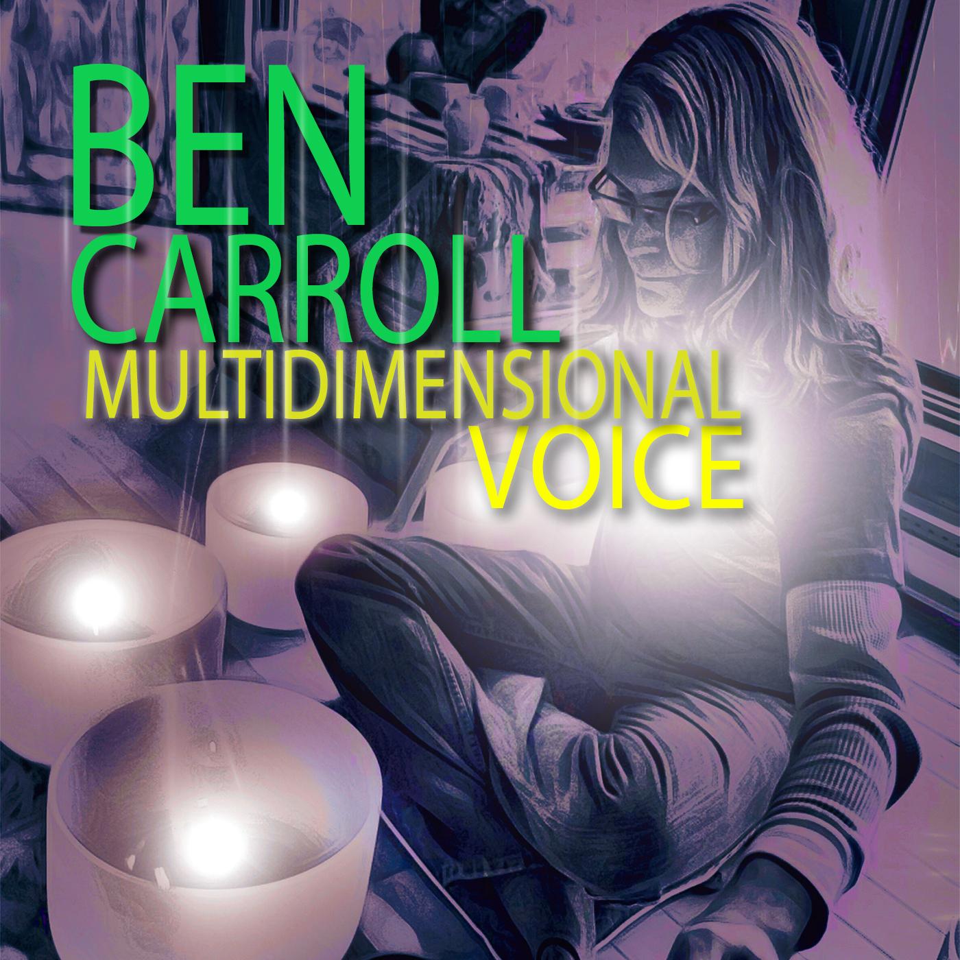 Ben Carroll -  Multidimensional Voice COVER - 1400x1400