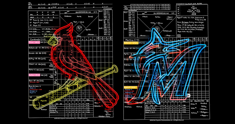 Game 4 - Cardinals @ Marlins