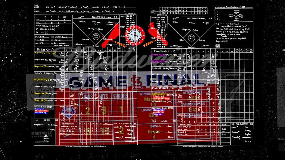 Game 23 - Philadelphia Phillies @ St. Louis Cardinals