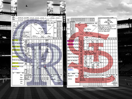 Game 33 Colorado Rockies vs St. Louis Cardinals