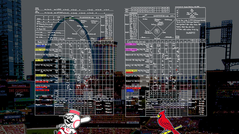 Game 21 - Cincinatti Reds @ St. Louis Cardinals
