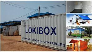 container escritorio casa stand de vendas