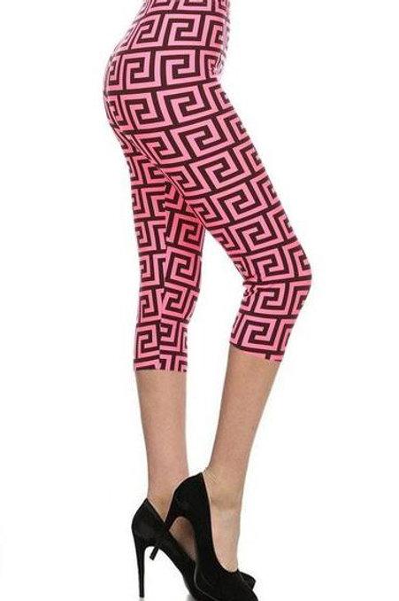 Lean Walk Like An Egyptian Pink CAPRI