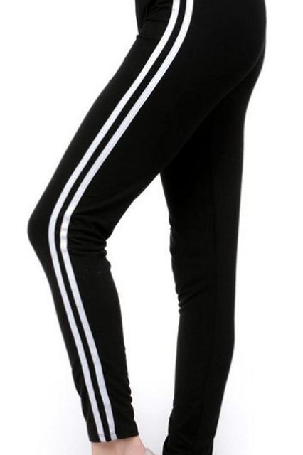 Luscious Black With Stripes