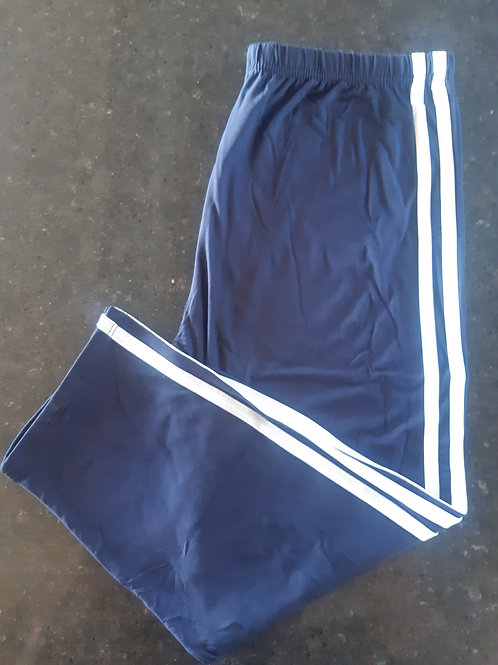 Luscious Solid Navy With Stripes CAPRI