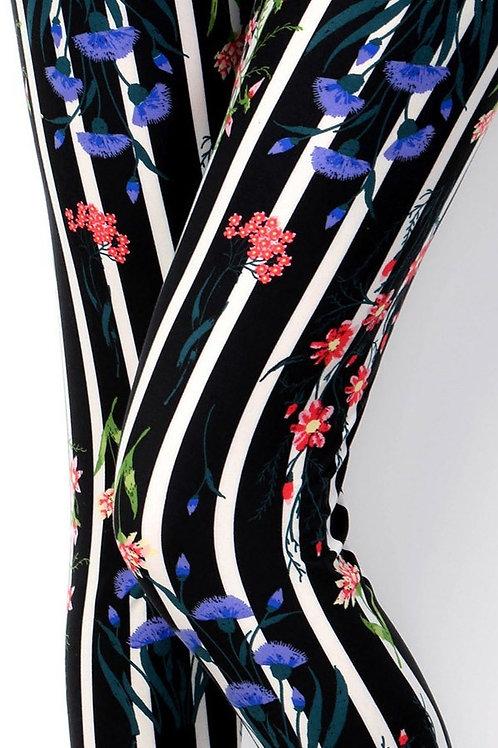 Lean Floral & Stripes