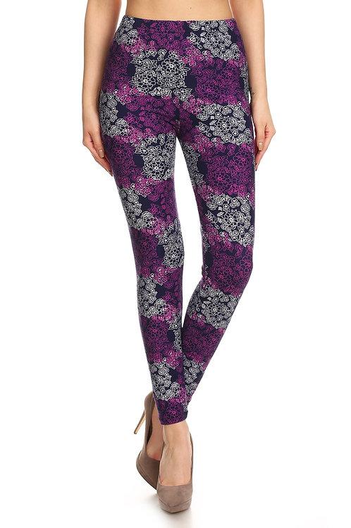 Lean Purple Wallflower