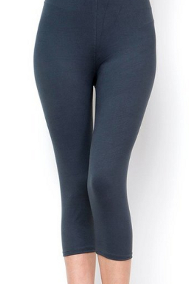 Lean Solid Charcoal CAPRI