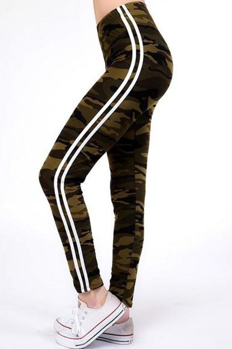 Luscious Camo Stripes
