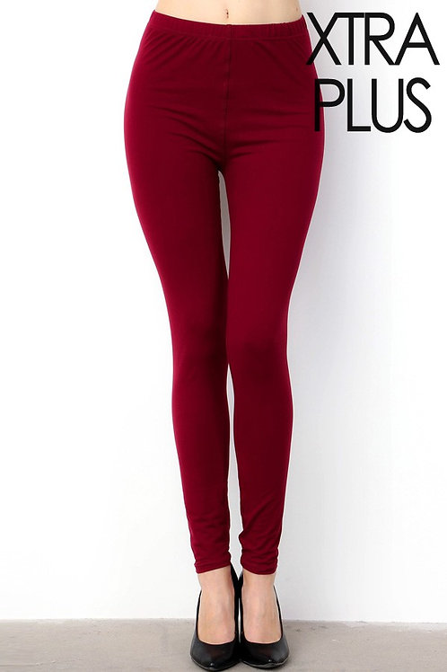 Extra Luscious Solid Burgundy Rose CAPRI