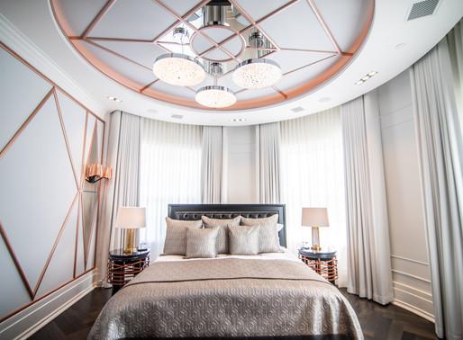 Art Deco elegance meets smart-home sophistication