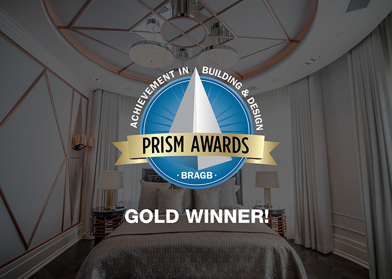 Gold winner award won by TSP Smart Spaces at the BRAGB 2020 PRISM Awards