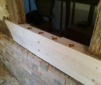 Oak Timber Frame Conservation Repair Kent