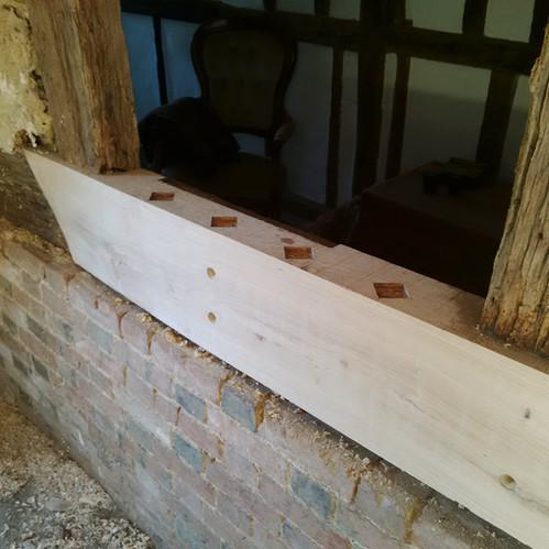 Timber Frame Oak Repair Kent
