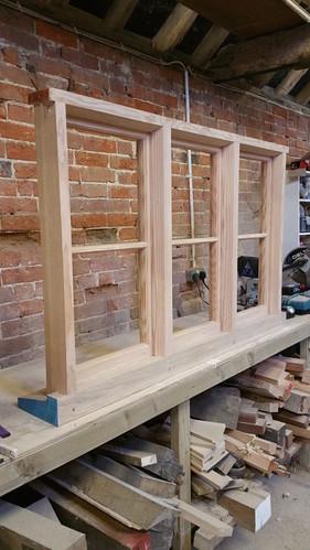 Bespoke Timber Frame Conservation Oak Windows Kent