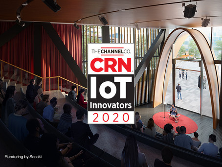 TSP Smart Spaces Wins CRN IoT Innovators Award for Fourth Year in a Row