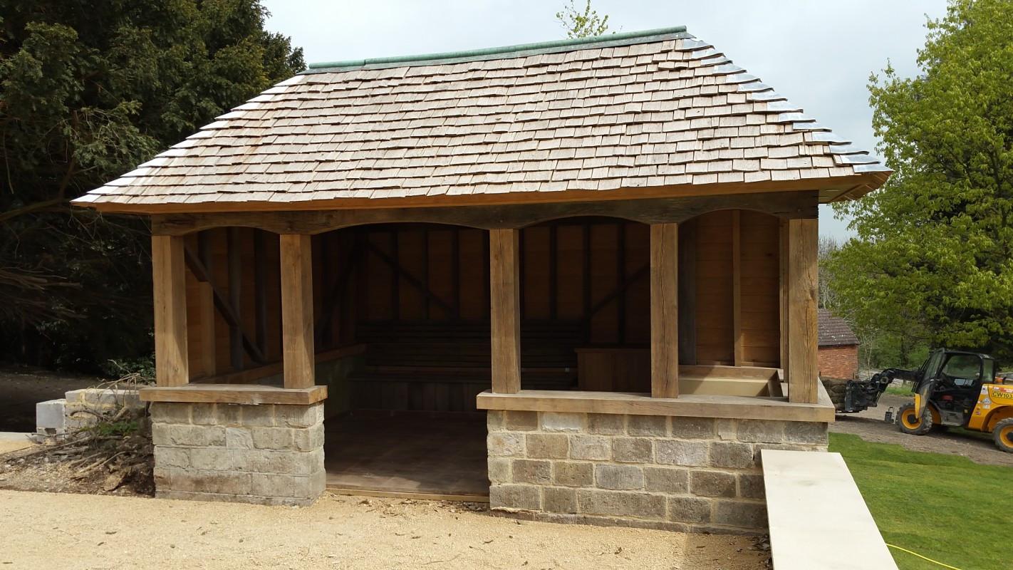 Timber Frame Outbuilding Kent