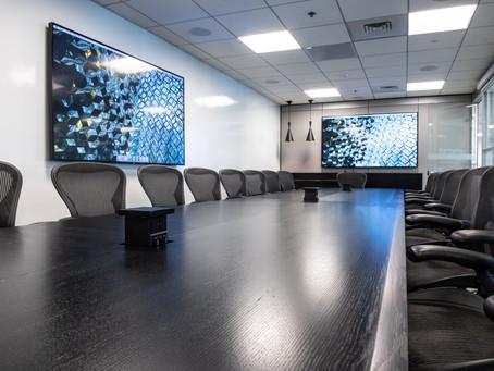 Maximum Minimalism – ERI's  Conference Room AV