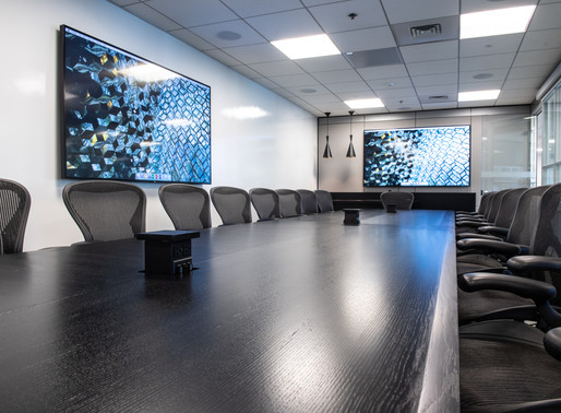 Maximum Minimalism – ERI, MA Conference room A/V
