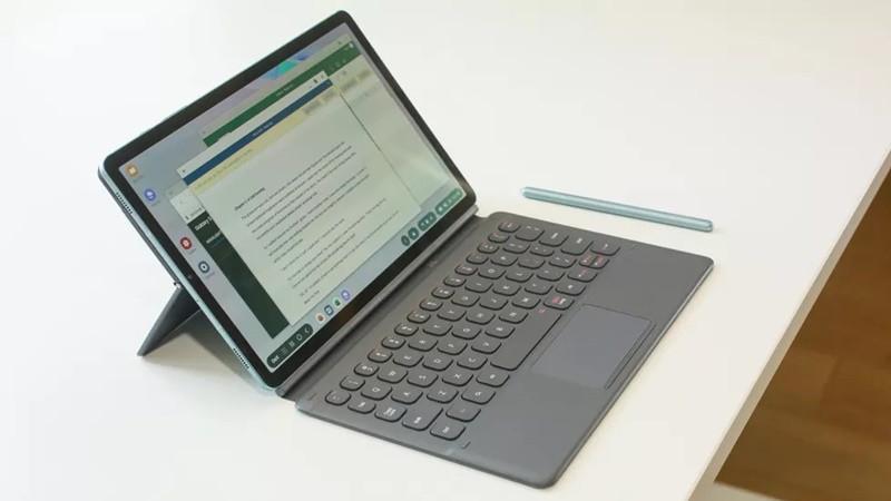 Một chiếc máy tính bảng Samsung Galaxy Tab S6