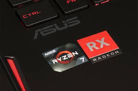 CPU AMD Ryzen 7 2800H được tích hợp bộ xử lý đồ họa RX Radeon Vega 11.