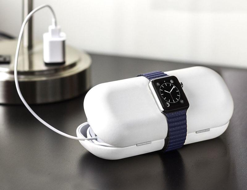 qMột mẫu sạc không dây cho đồng hồ thông minh