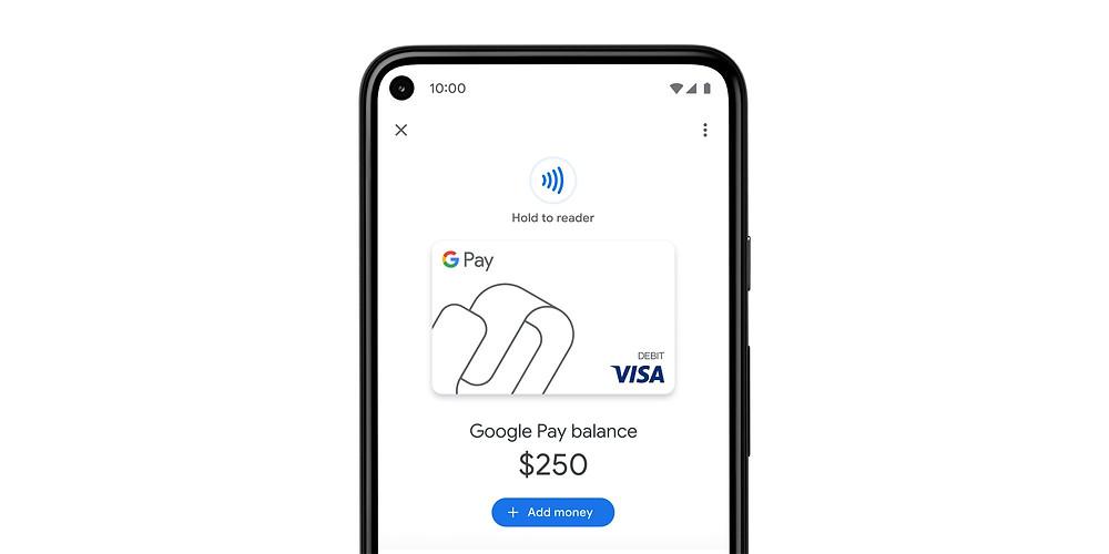 Thẻ ghi nợ ảo của Google