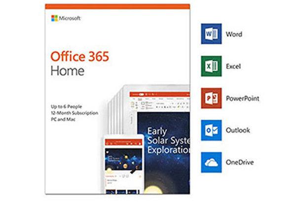 Phần Mềm Microsoft Office 365 Home English  01 năm - Hàng chính hãng