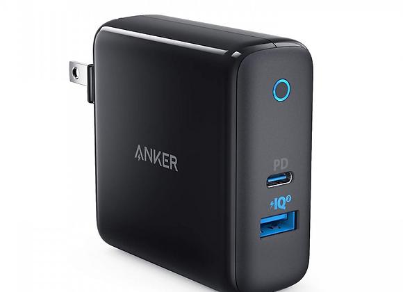 Adapter 2 cổng Anker PowerPort+ 33W - Hàng chính hãng