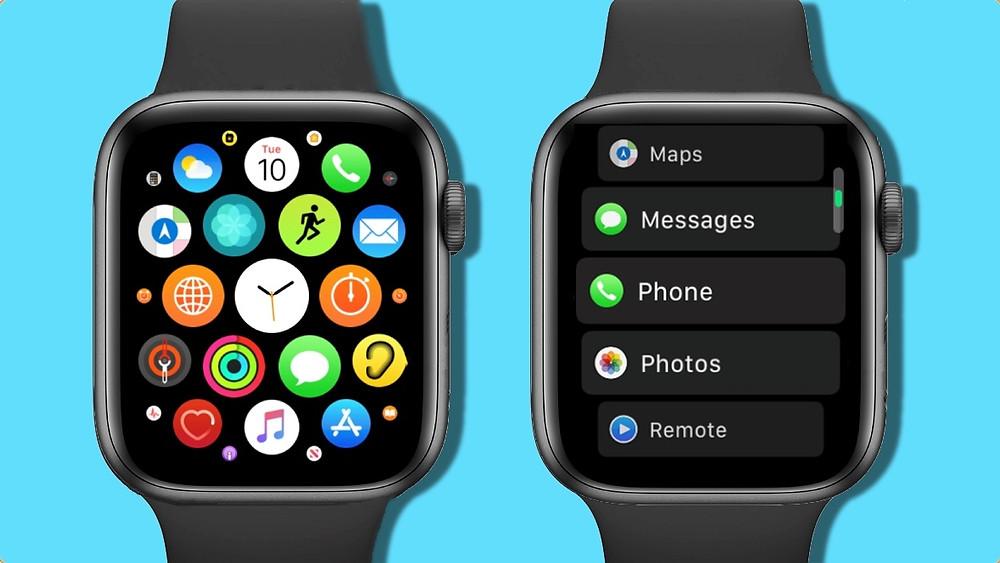 Các ứng dụng trên đồng hồ thông minh