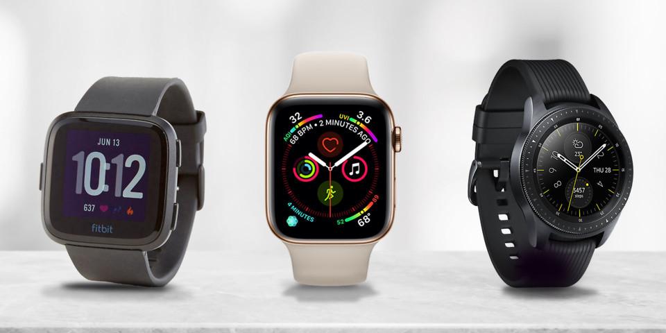 Fitbit, Apple watch hay Galaxy watch