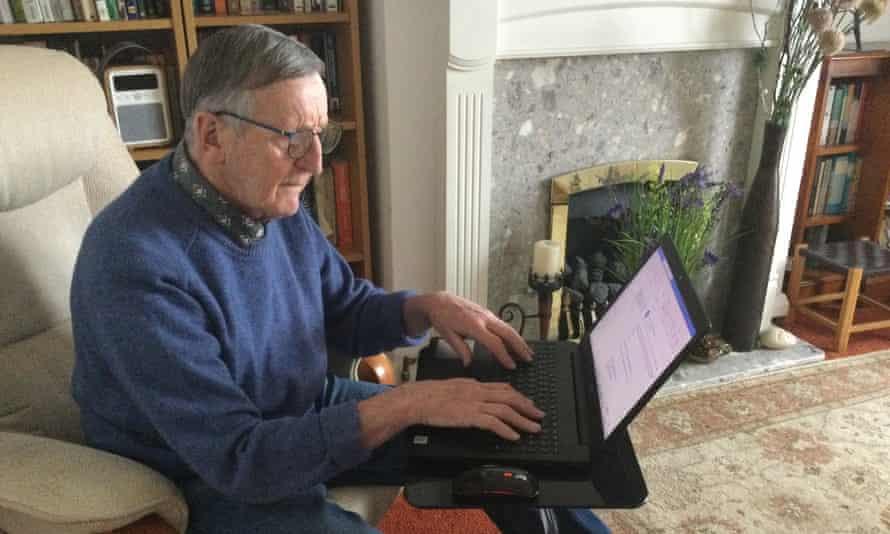 Jim Whelan: 'Bây giờ tôi thậm chí đã có trang web của riêng mình.' Ảnh: Jim Whelan