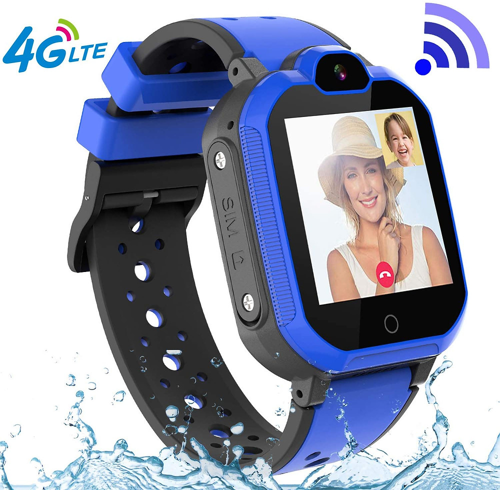 Đồng hồ thông minh có kết nối 4G, Bluetooth và wifi