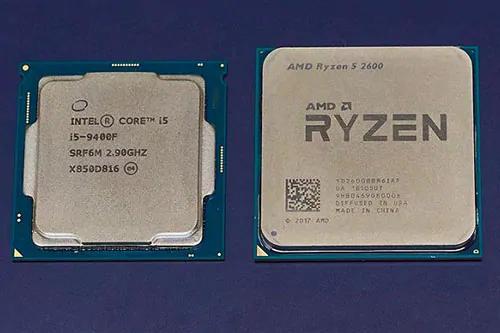 CPU Intel Core i5 và AMD Ryzen 5 thích hợp cho thiết kế và game nhẹ