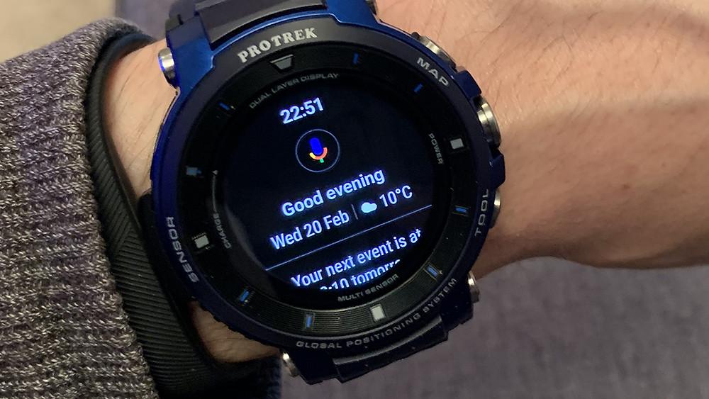 Tính năng Google Asisstant trên Android watch