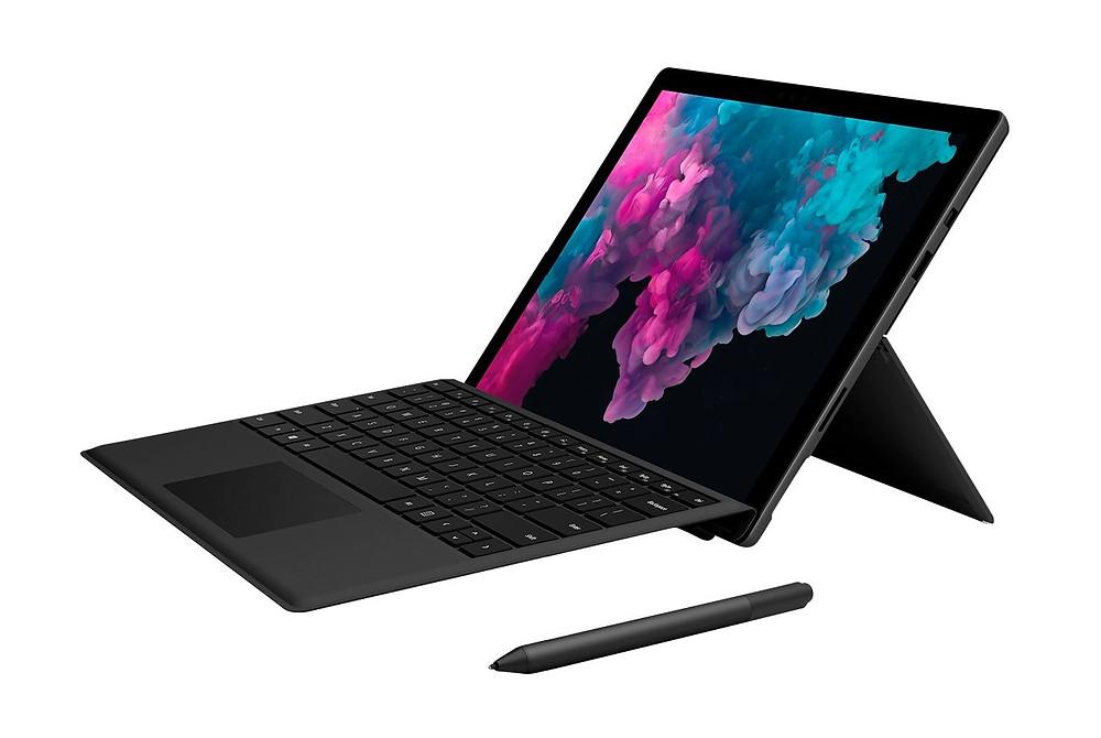 Một chiếc Microsoft Surface Pro 7