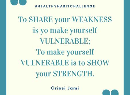 Day Eight - Healthy Habit Accountability Challenge
