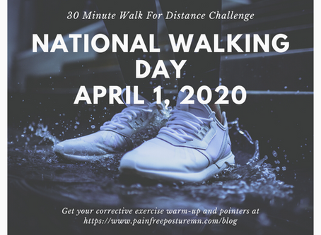 Take The 30-Minute Walk For Distance Challenge
