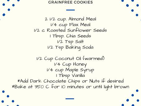 """Grain-free """"Caveman"""" Cookies"""