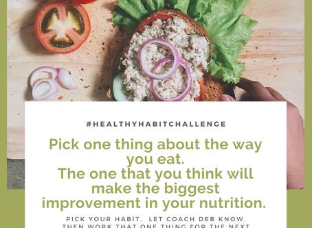 Day Nine - Healthy Habit Accountability Challenge