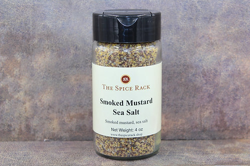 Smoked Mustard Sea Salt