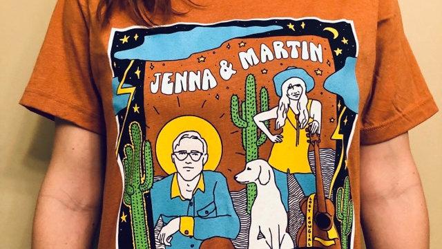 "Jenna & Martin ""Cosmic Western Duets t-shirt"