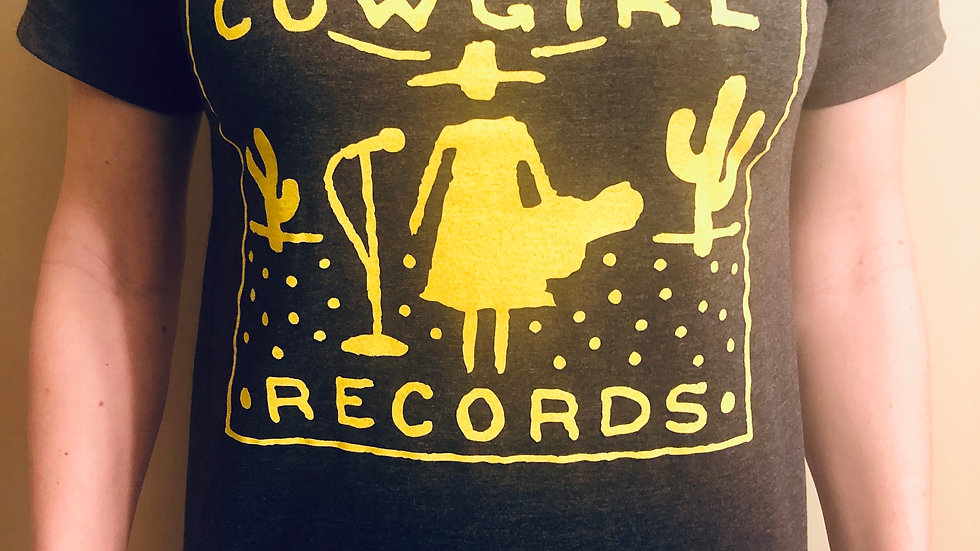 Lost Cowgirl Records t-shirt