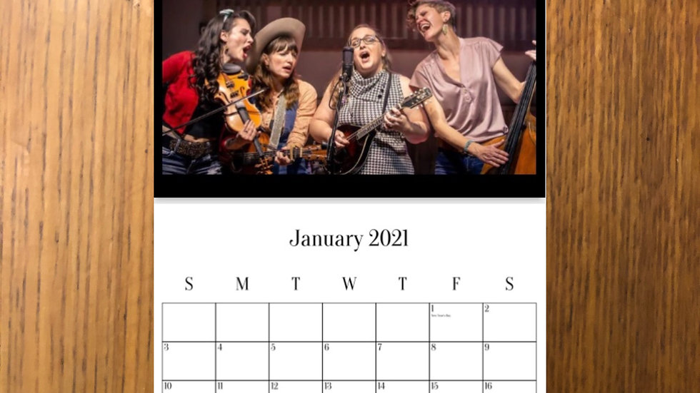 Unfit Wives 2021 Photo Calendar (LIMITED TIME ONLY)
