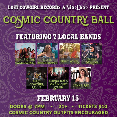 A Fresh Start & Cosmic Country Ball