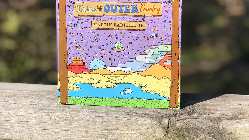"""""""Tales From the Outer Country"""" CD by Martin Farrell Jr. 2018"""
