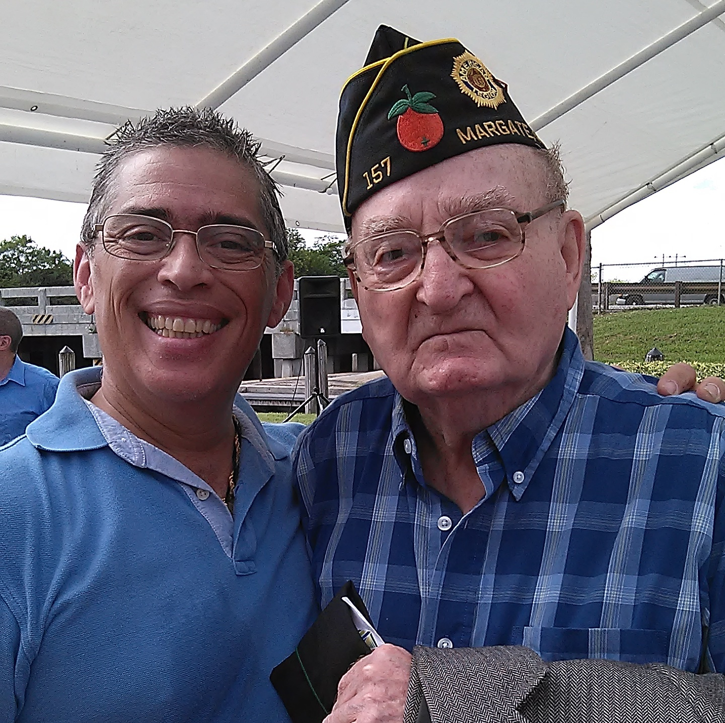 with Veteran, Retired Commissioner Joseph Varsallone.jpg