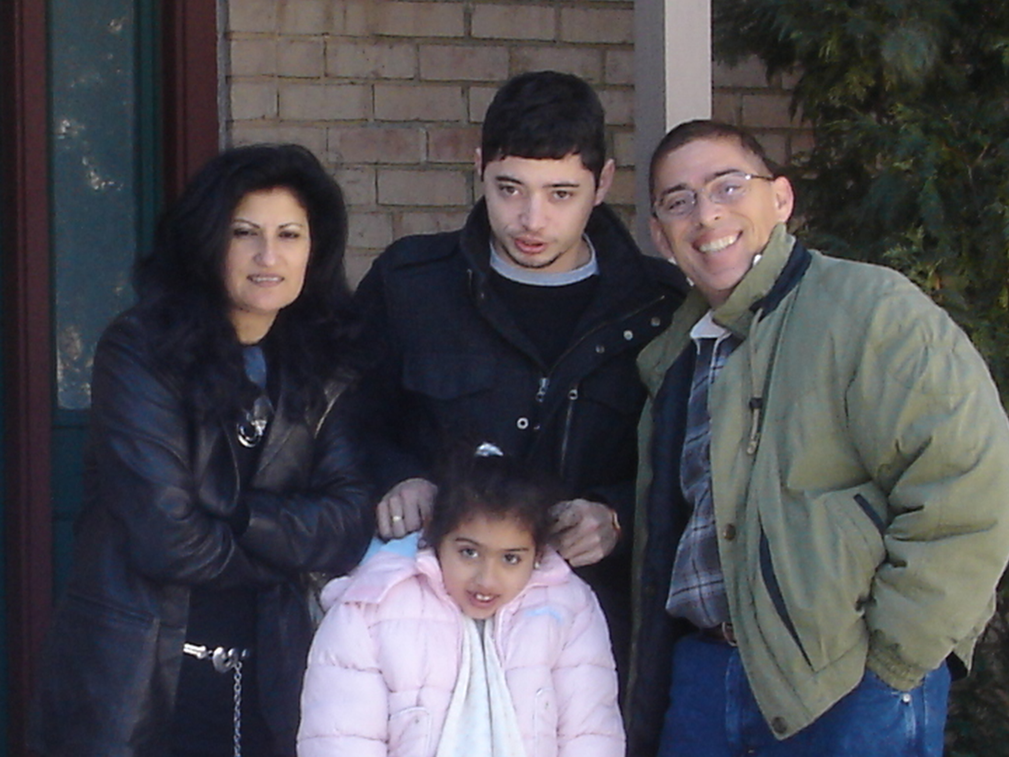 Assia, Jason, Sophia & I in Delaware